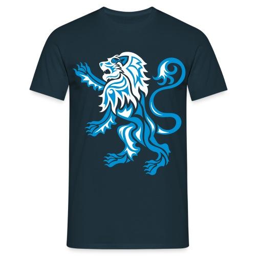 Alba Tribal Lion Rampant - Men's T-Shirt