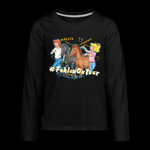Bibi und Tina 'Ponyflüsterer mit Fatima und Felix' - Teenager Premium Langarmshirt