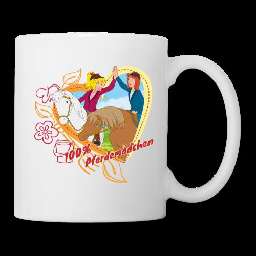Bibi und Tina '100% Pferdemädchen' - Tasse