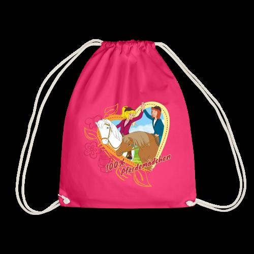 Bibi und Tina '100% Pferdemädchen' - Turnbeutel