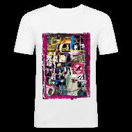 T-Shirts ~ Männer Slim Fit T-Shirt ~ Collage