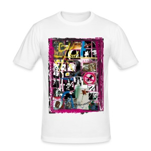 Collage - Männer Slim Fit T-Shirt