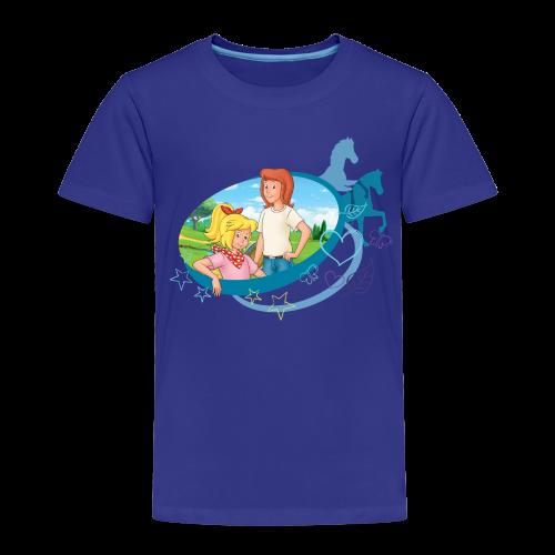 Bibi und Tina 'Schatten Silhouetten' - Kinder Premium T-Shirt