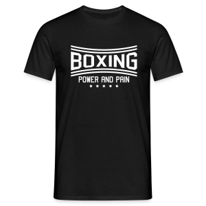 FWSBerlin Boxing Power and Pain - Männer T-Shirt