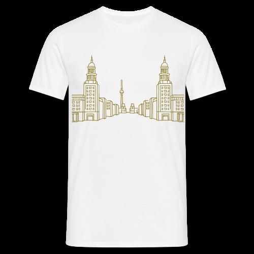 Frankfurter Tor Berlin Friedrichshain  - Männer T-Shirt