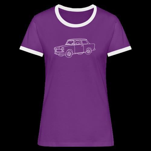 Trabi - Frauen Kontrast-T-Shirt