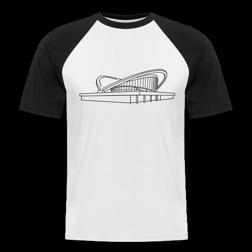 Schwangere Auster Berlin - Männer Baseball-T-Shirt