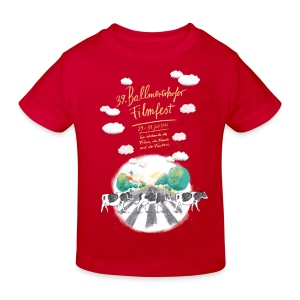 Kinder Bio-T-Shirt 2016 rot - Kinder Bio-T-Shirt