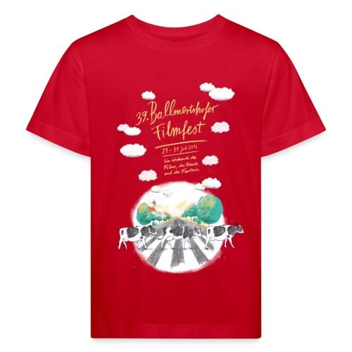Kinder Bio-T-Shirt 2016 rot - Kinder Bio-T-Shirt