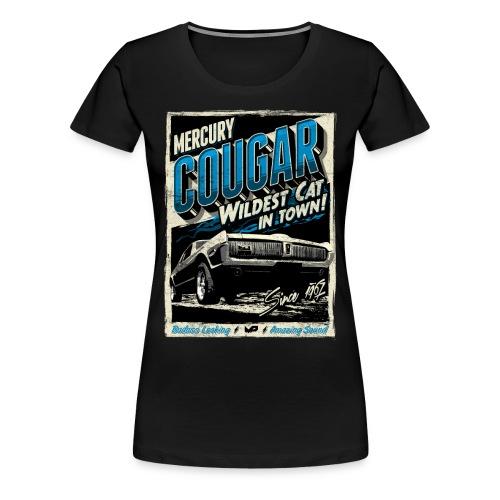 Cougar / Blau / Premium T-Shirt - Frauen Premium T-Shirt
