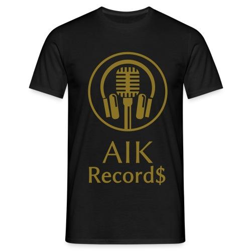 AiK Record$ Shirt Gold - Männer T-Shirt