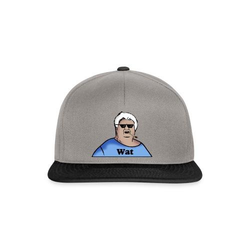 Wat Snapback Cap (Thuglife Logo) - Snapback Cap