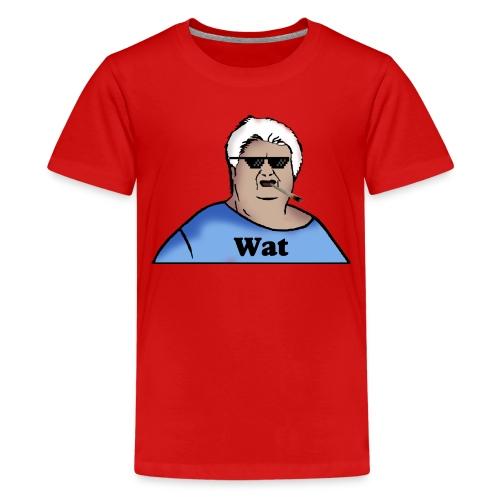 WaT-Shirt Teenager (Thuglife Logo) - Teenager Premium T-Shirt