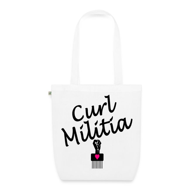 EarthPositive Tote Bag Curl Militia