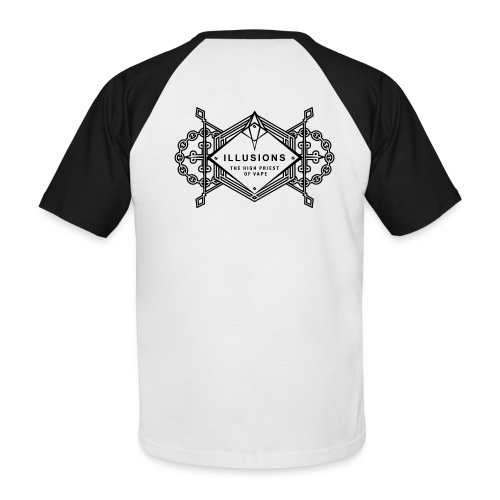 Illusion Baseball-T-Shirt - Männer Baseball-T-Shirt