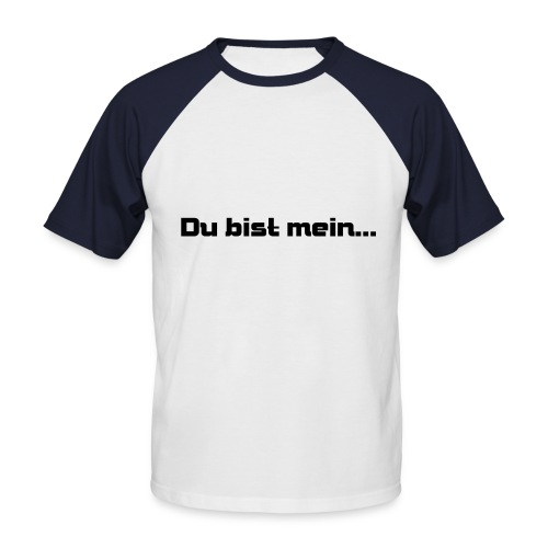 Fast Food - Männer Baseball-T-Shirt