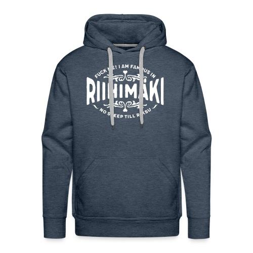 Riihimäki - Fuck Me! - Miesten premium-huppari