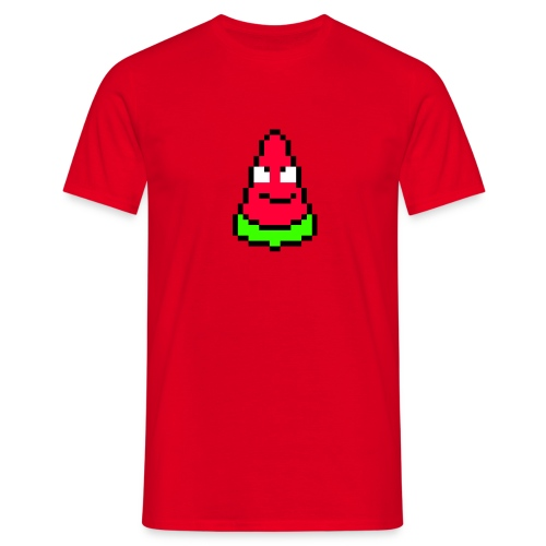 Courgette - Rouge - T-shirt Homme