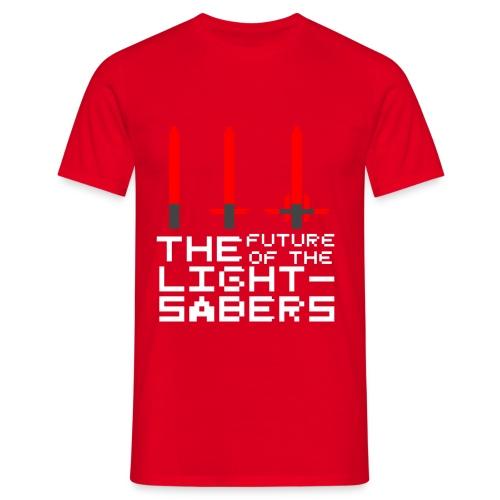 Le futur... - Rouge - T-shirt Homme