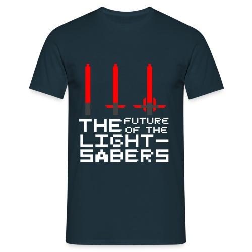 Le futur... - Bleu - T-shirt Homme