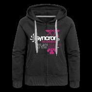 Pullover & Hoodies ~ Frauen Premium Kapuzenjacke ~ Zipper - ASYNCRON RECORDINGS