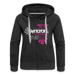 Zipper - ASYNCRON RECORDINGS - Frauen Premium Kapuzenjacke