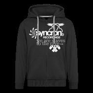 Pullover & Hoodies ~ Männer Premium Kapuzenjacke ~ Zipper - ASYNCRON RECORDINGS