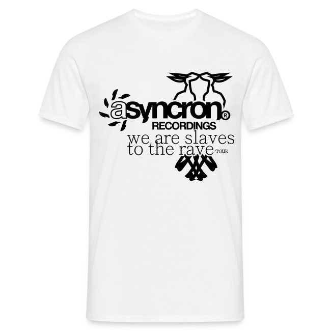 T-Shirt ASYNCRON RECORDINGS