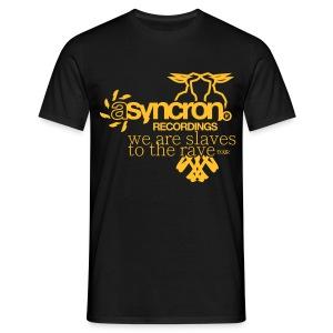 T-Shirt ASYNCRON RECORDINGS - Männer T-Shirt
