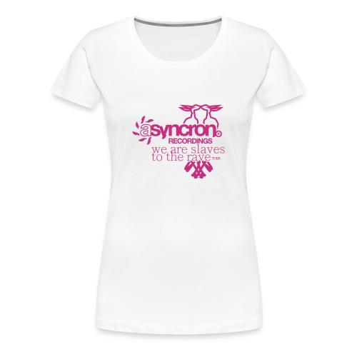 T-Shirt ASYNCRON RECORDINGS - Frauen Premium T-Shirt