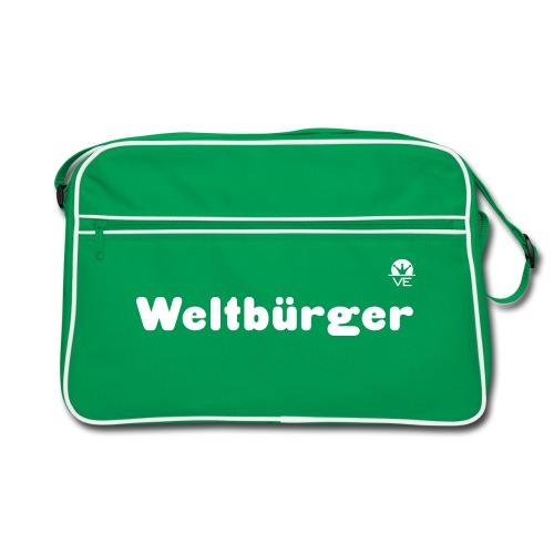 Weltbürger Retro Tasche - Retro Tasche