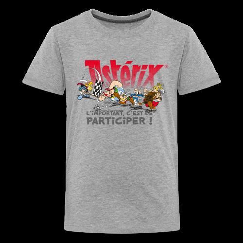 Asterix & Obelix - L'important, c'est de participier! - T-shirt Premium Ado