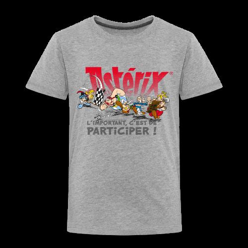Asterix & Obelix - L'important, c'est de participier! - T-shirt Premium Enfant