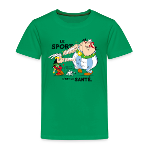 Asterix & Obelix -  Asterix and Obelix boxing - T-shirt Premium Enfant
