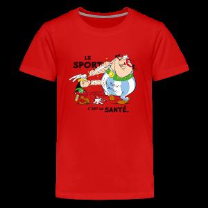 Asterix & Obelix -  Asterix and Obelix boxing - T-shirt Premium Ado