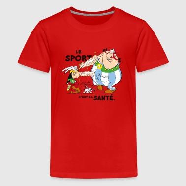 Astérix et Obélix - Le sport c'est la santé - T-shirt Premium Ado