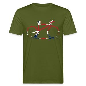 GB Cycling Chain Print Organic - Men's Organic T-shirt