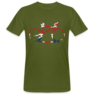 GB Cycling Chain Print Organic - Men's Organic T-shirt
