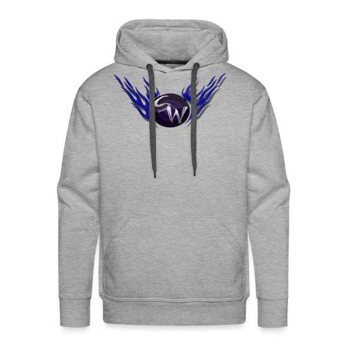 flame logo hoodie - Mannen Premium hoodie