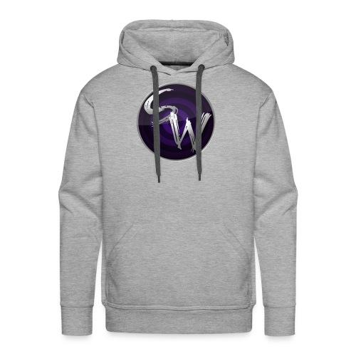 round logo hoodie - Mannen Premium hoodie