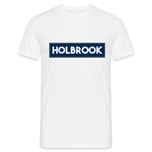 Holbrook Normal Navy/White T-Shirt - Men's T-Shirt