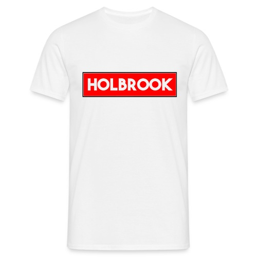 Holbrook 2nd Edition Red/White T-SHirt - Men's T-Shirt