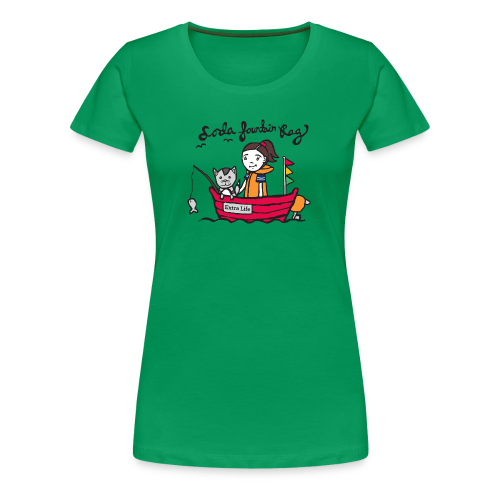 Extra Life - Tight fit tshirt (more colors available) - Women's Premium T-Shirt