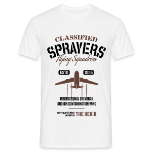 Classified Sprayers - Flying Squadron - Men's T-Shirt