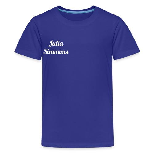 julia - Teenage Premium T-Shirt