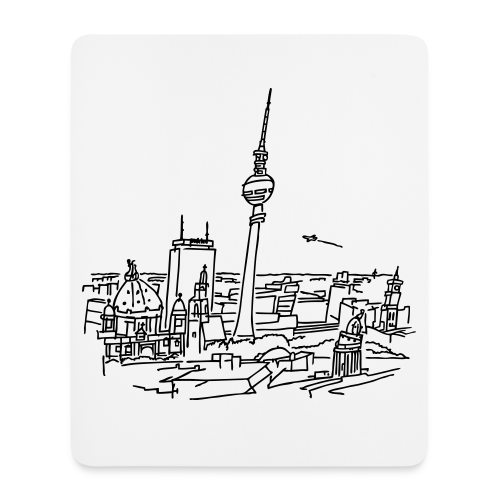 BERLIN panorama mousepad