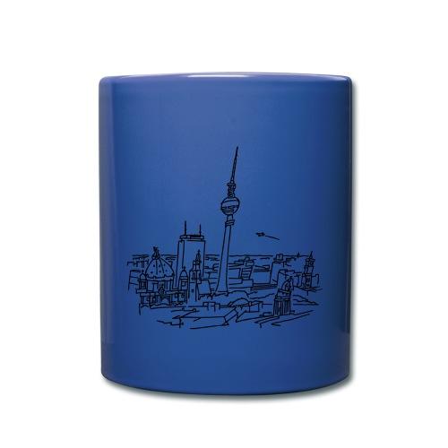 Berlin Panorama - Tasse einfarbig