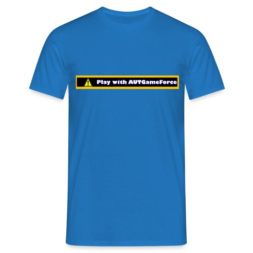 Play with AUTGameForce T-Shirt - Männer T-Shirt