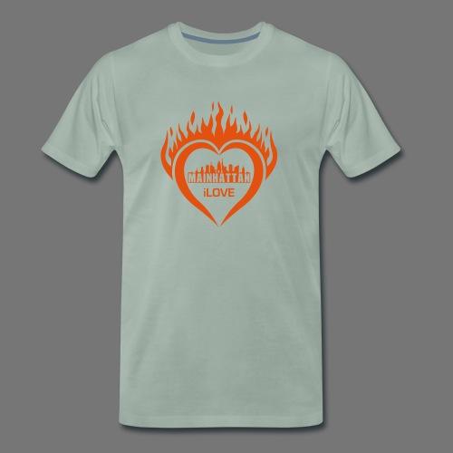 Männer T-Shirt Rundhalsausschnitt - Männer Premium T-Shirt
