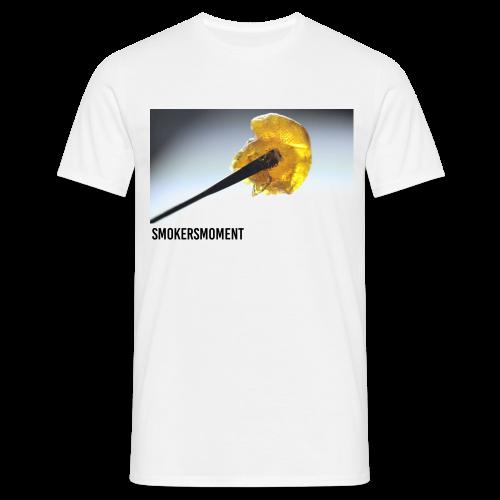 520 SMOKERSMOMENT - DAB-SESSION - WHITE T-SHIRT - MEN - T-shirt herr